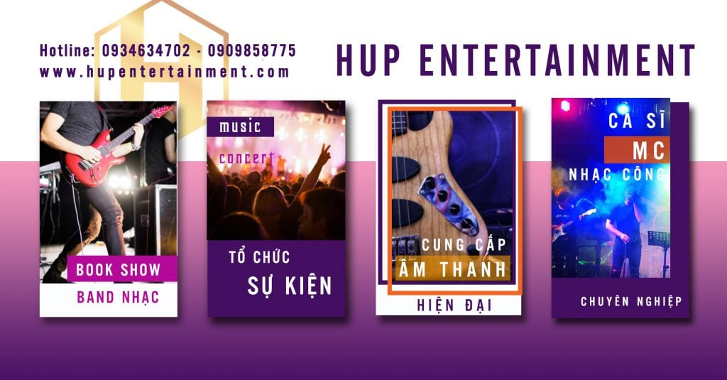 dịch vụ hup entertainment