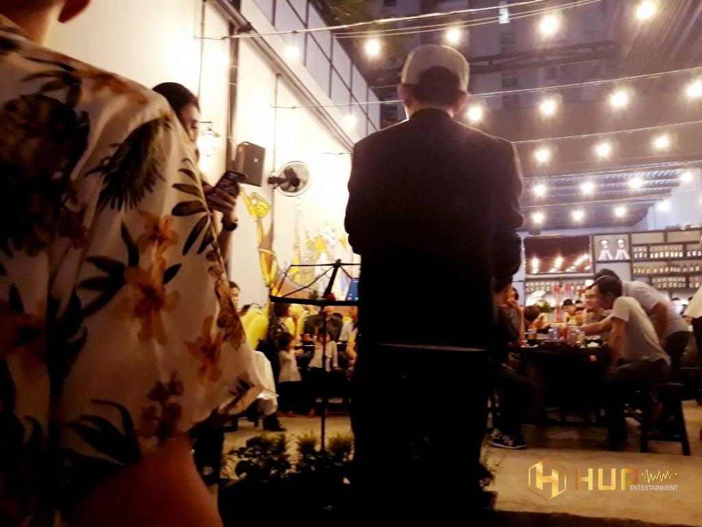 band nhạc hát show